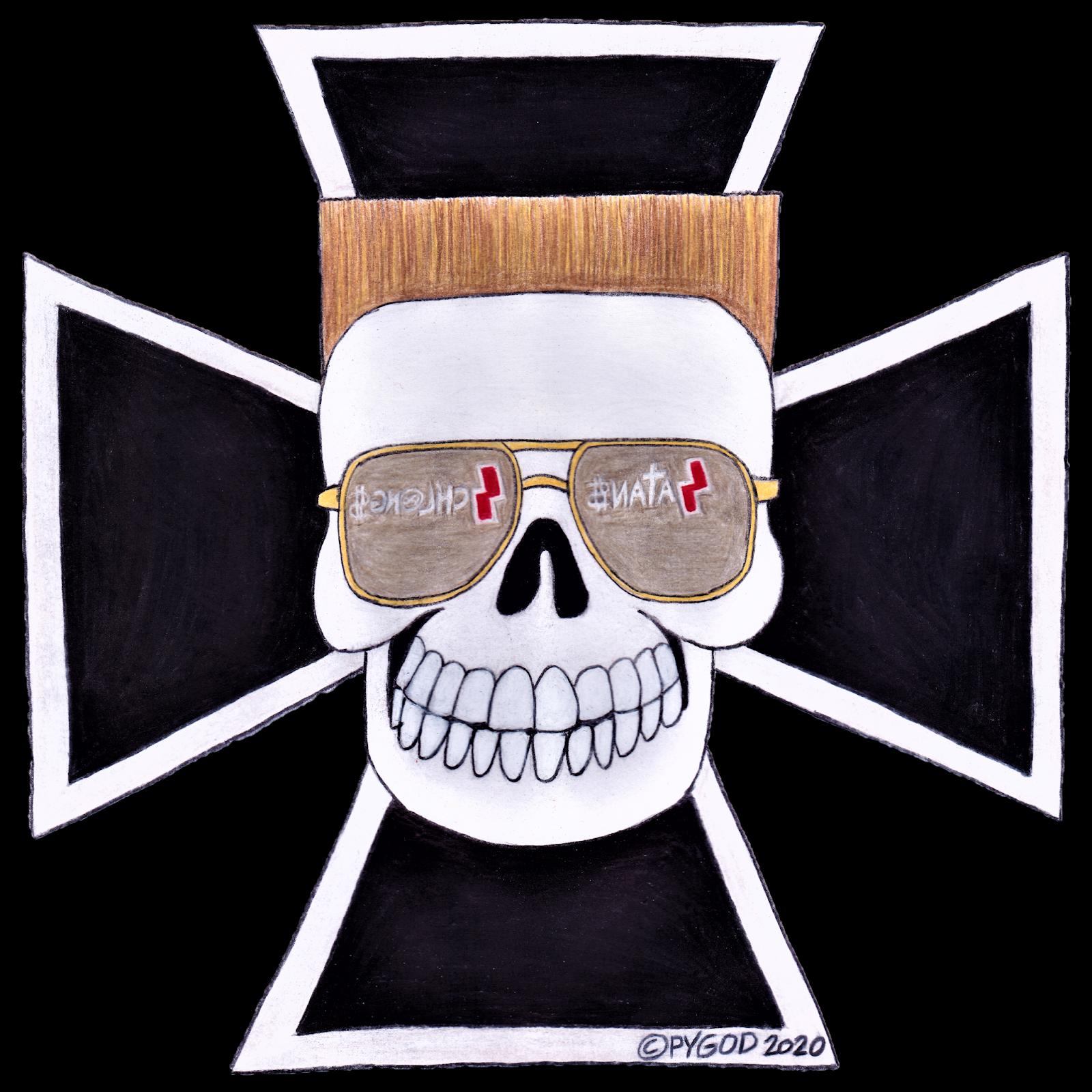 5- PYGOD Skull Logo