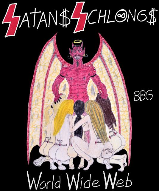 Satans Schlongs Colors. SatansSchlongs.com