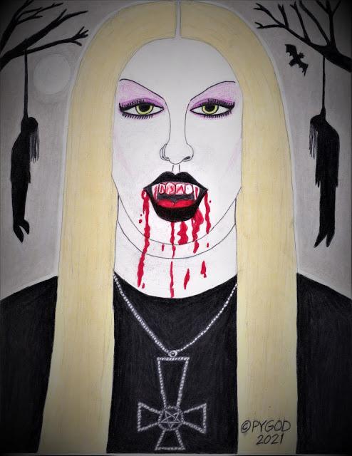Black Metal Chick / Countess of Death. SatansSchlongs.com