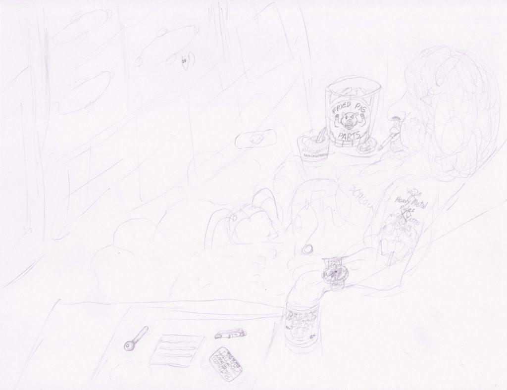 Artwork in Progress - Dieu du Vice. SatansSchlongs.com