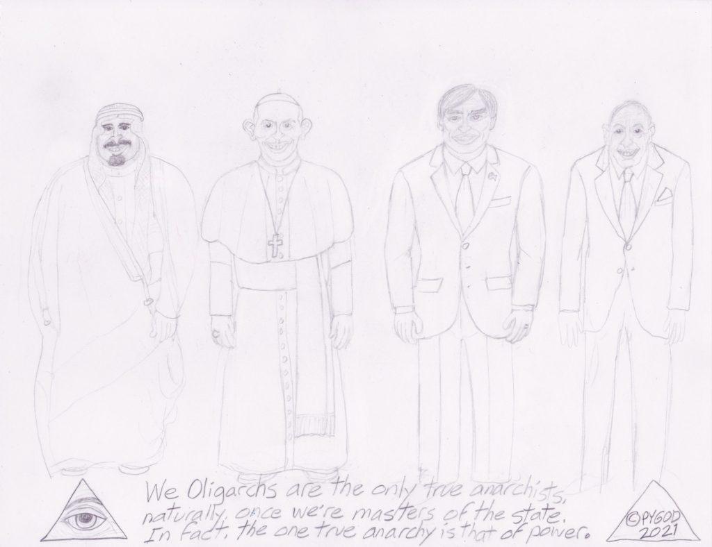Artwork in Progress - The Council part 2. SatansSchlongs.com