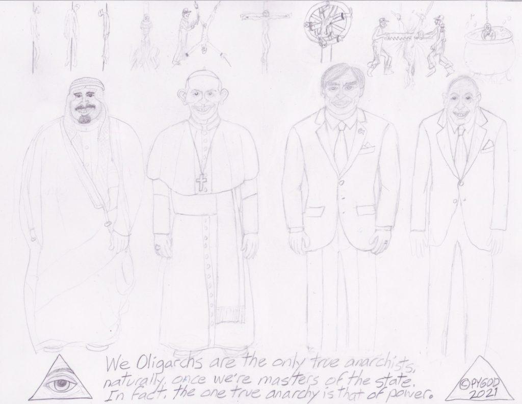Artwork in Progress - The Council part 3. SatansSchlongs.com