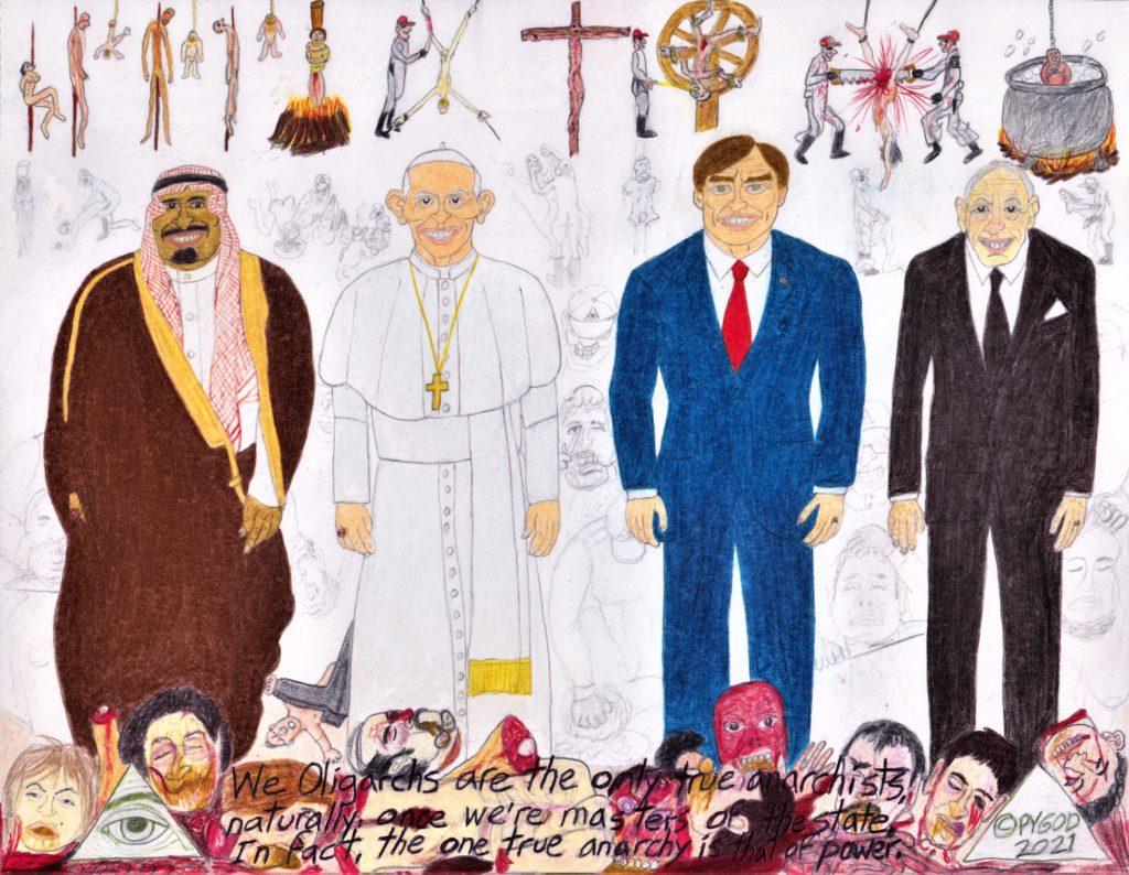 Artwork in Progress - The Council part 8 (April 28, 2021) SatansSchlongs.com