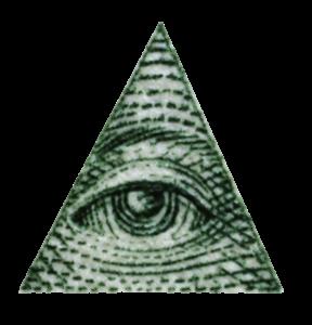 Eye of Providence, symbol of the Illuminati / New World Order (NWO)