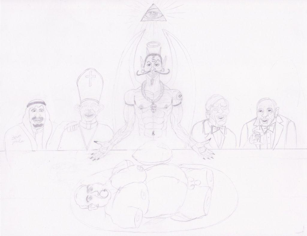 The Illuminati Supper part 3 (May 23, 2021)