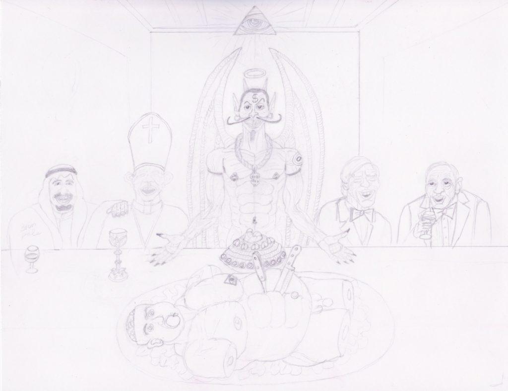 The Illuminati Supper part 4 (May 24, 2021) SatansSchlongs.com