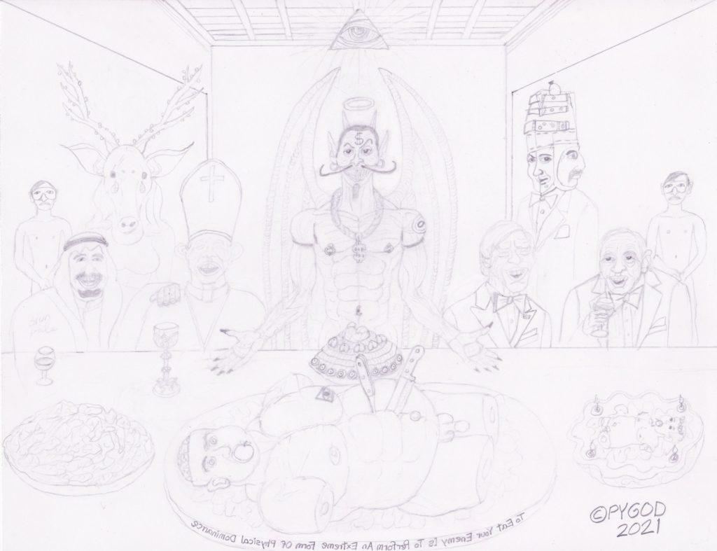 The Illuminati Supper part 5 (May 25, 2021)
