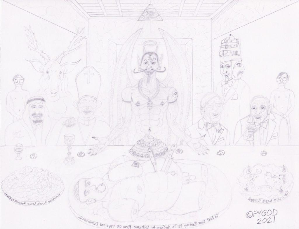 The Illuminati Supper part 6 (May 26, 2021) SatansSchlongs.com