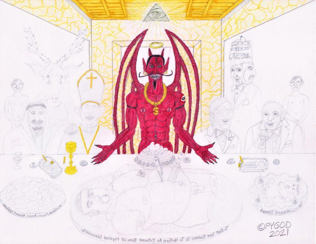The Illuminati Supper part 7 (May 27, 2021) SatansSchlongs.com
