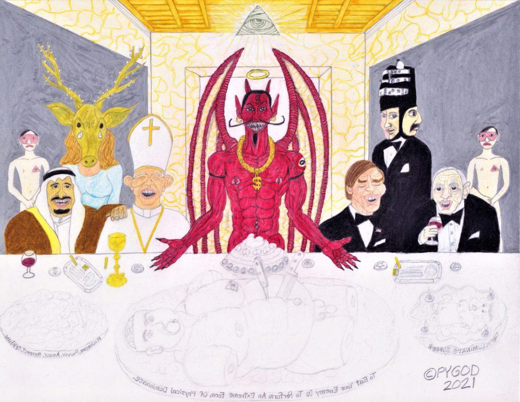 The Illuminati Supper part 8 (May 28, 2021) SatansSchlongs.com
